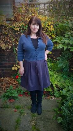 Mammoth Knits Peggy Sue Cardigan blogged here: https://justsewtherapeutic.wordpress.com/2014/11/07/some-finished-knitwear-peggy-sue-cardigan/