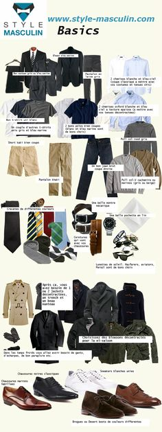 Capsule Wardrobe: Essentials For A Man's Wardrobe Gq Style, Men Style Tips, Looks Style, Mode Style, Style Men, Classic Mens Style, Curvy Style, Mens Wardrobe Essentials, Men's Wardrobe