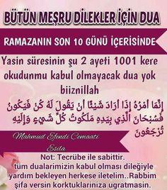 Read the last 10 days of Ramadan - Kurani Oku Circumcision, Allah Islam, Islamic Quotes, Cool Words, Karma, Prayers, Faith, Reading, 10 Days