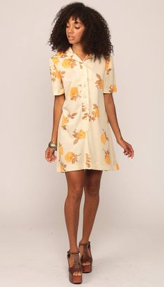 Perfect for fall. Love a shirt dress. @Etsy @ShopExile