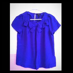 Jcrew blouse NWT! Cute front! J. Crew Tops Blouses