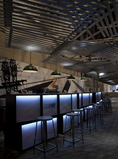 The Cave, VIP Lounge at the ARCOmadrid by Q:NØ Arquitectos