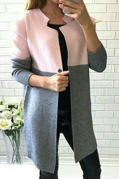 loving the colors of this coat