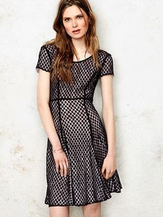 Reversible Fit-and-Flare Dress - Victoria Secret