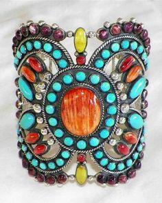 Navajo handcrafted bracelet