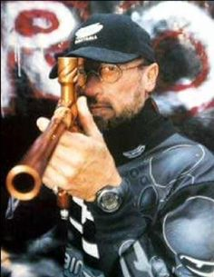 Maurice Gibb Not only music royalty, but also a paint ball king!