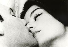 """Jean-Louis Trintignant, Anouk Aimée (1966) in """"Un homme et une femme"""" (Claude Lelouch, dir)"""