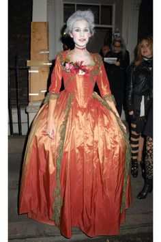 2008, Alexa Chung as zombie Marie Antoinette