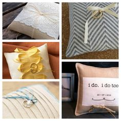 Cozy.Cottage.Cute.: DIY Ring Bearer Pillow