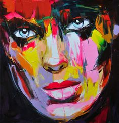 Françoise Nielly (France), oil and knife