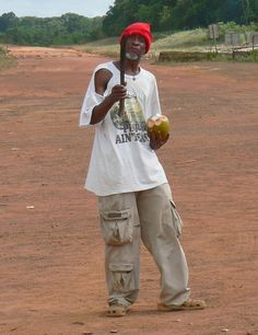 """Lethem, Guyana. I dont think he sells coconuts ... """"pimpin' ain't easy..."""""""