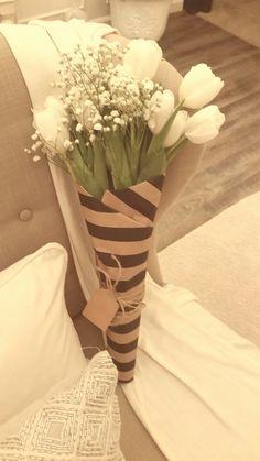 White Tulips Bouquet!