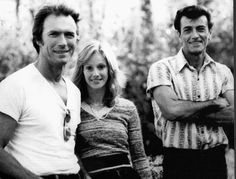 Clint Eastwood, Sondra Locke and Frank Frazetta