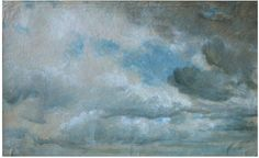 John Constable, Study of Clouds, 1822