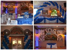 Balloon décor by Ideal Party Decorators - www.idealpartydecorators.com