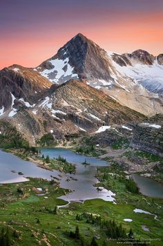 "Limestone Lakes | British Columbia, Canada • ""Limestone Lakes British Columbia"" by Alan Majchrowicz on http://500px.com/photo/6109421"