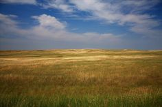 The South Dakota Prairie. So many brave people took a chance on this land.