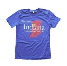 Show some Hoosier Hospitality with this tee. A water-based print on a light-weight, soft Canvas tee. Product Specifications 58% Cotton, 42% Polyester Hand printed in Indianapolis. Eco-Friendly, Water-Based Ink Sweatshop Free Sizing