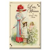 Found it at Wayfair - Little Women by Louisa May Alcott Vintage Advertisement on Canvas