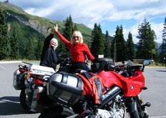 Voni & Ardys have covered ONE MILLION miles each on their BMW motorcycles. First women in North America to accomplish this feat.
