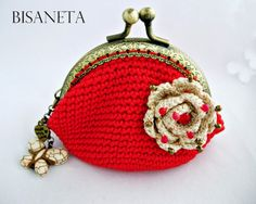 Bisaneta: MONEDEROS CROCHET   IDEA