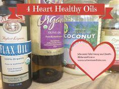 4 Heart Healthy Oils