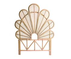 Čelo postele Algaida Natural 110x145 cm - Vivre.cz Boho, Montage, Art Deco, Chandelier, Ceiling Lights, Design, Home Decor, Products, Rattan Headboard