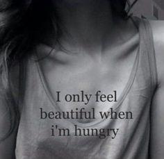 Im happy when im hungry