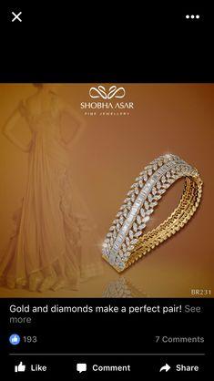 Bracelets for Women – Fine Sea Glass Jewelry Diamond Earrings Indian, Diamond Earing, Diamond Bracelets, Gold Bangles, Diamond Jewelry, Jade Bracelet, Bangle Bracelets, Antique Jewellery Designs, Gold Jewellery Design