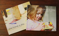 I love this idea from Erin Cobb on the Creative Mama.  She put her photos and stories from her 365 project in a photo book at the end of each year (and had one copy made for each kid).  She even has templates that I could download.  I hope I stay with this project long enough this year to have one!