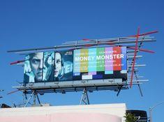 Money Monster movie billboard Sunset Strip