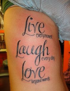Quote Tattoos about strength | Great Quotes Tattoo Design | Tattoo Ranking