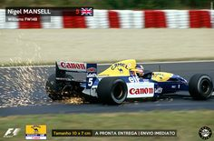 Adesivo Camel Williams FW14B Nigel Mansell 1992 F1 Formula 1 Sticker