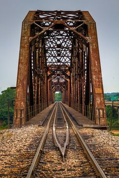 The Red River Railroad Bridge ... www.facebook.com/loveswish