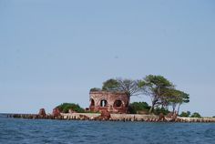 This is Kelor Island, the smallest island of The Thousand Islands, Jakarta.