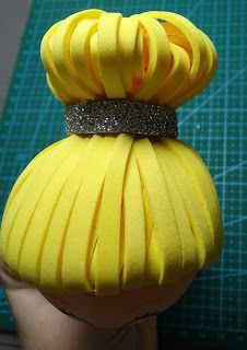 where to have a birthday party Foam Sheet Crafts, Foam Crafts, Fondant Hair, Foam Wigs, Disney World Halloween, Clay Figurine, Polymer Clay Dolls, Fondant Figures, Ideas Para Fiestas