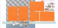12x12 MY HERO scrapbook page kit, premade my hero scrapbook, 12x12 premade scrapbook page, premade scrapbook pages, 12x12 scrapbook layout