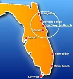 Had a great time in New Smyrna Beach.  Not a touristy place - very relaxed with beautiful beaches.