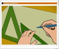 """""""Trazados geométricos"""", de librosvivos.net, expone sobre el trazado de líneas, segmentos, ángulos y circunferencias, además de evaluar los conocimientos del alumno."""