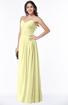 Cinderella A-line Sleeveless Chiffon Floor Length Ruching Plus Size Bridesmaid Dresses