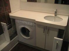 раковина-столешница для ванной комнаты: 25 тыс изображений найдено в Яндекс.Картинках Small Laundry, Washing Machine, Home Appliances, Bathroom, Interior, Inspiration, Google, Small Showers, Bath