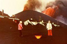Volcanic eruption 1973 in Westman islands