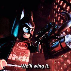 my gif LOL funny film batman movie comedy humor dc cinema Will Arnett dc comics Lego Batman The LEGO movie