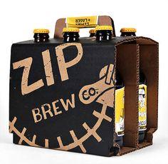 Beer / Zip Brew Co. Packaging