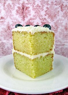 Lemon Layer Cake and Lemon Cream Cheese Frosting