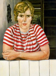 Stanley Spencer, (English painter, 1891 – Daphne Charlton Although Stanley Spencer's portraits are brutally realistic & strippe. Stanley Spencer, Best Portraits, Portrait Art, Figurative Art, British, Female, Brown, Women, Bloomsbury