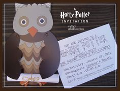A Harry Potter birthday party, plans, activities, and in general cuteness!!