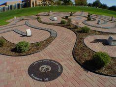 Valparaiso Memorial Labyrinth by Marty Kermeen