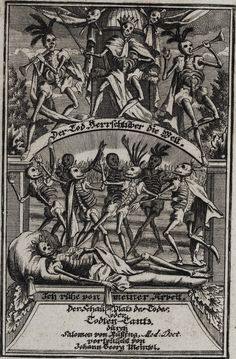 The Danse Macabre (The dance of death)