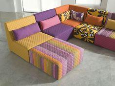 Telas para hacer cojines tapizar cortinas villalba - Como tapizar un sofa ...